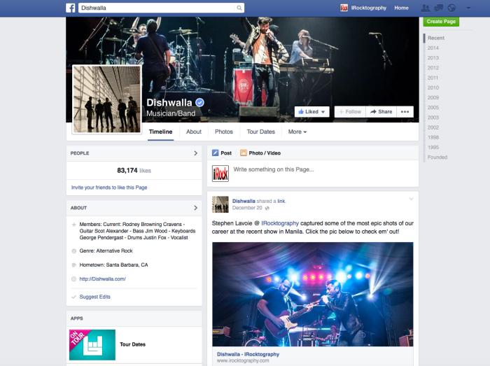 Diswalla Facebook page