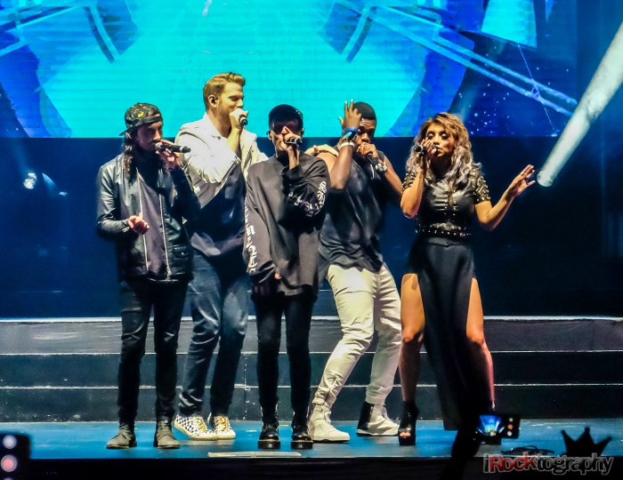 Pentatonix, skilled performance and enthusiastic crowd