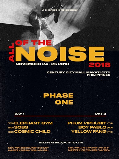 All of the Noise Nov 24:25