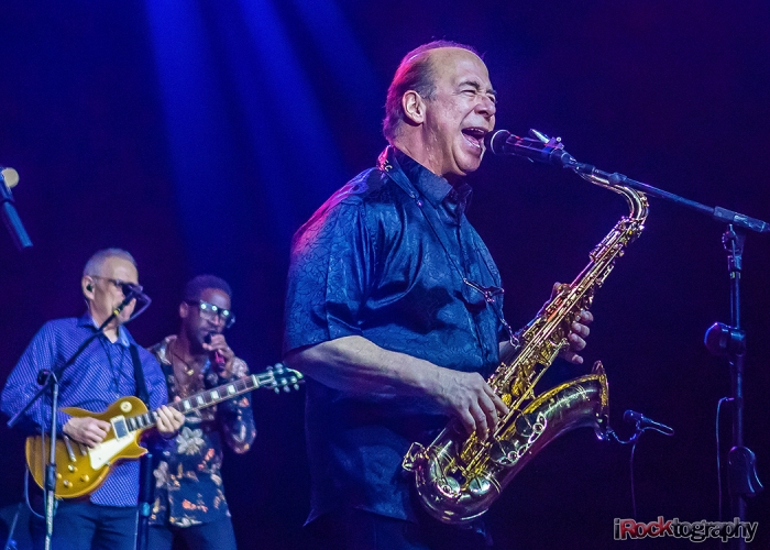 Tower of Power, performing in Manila
