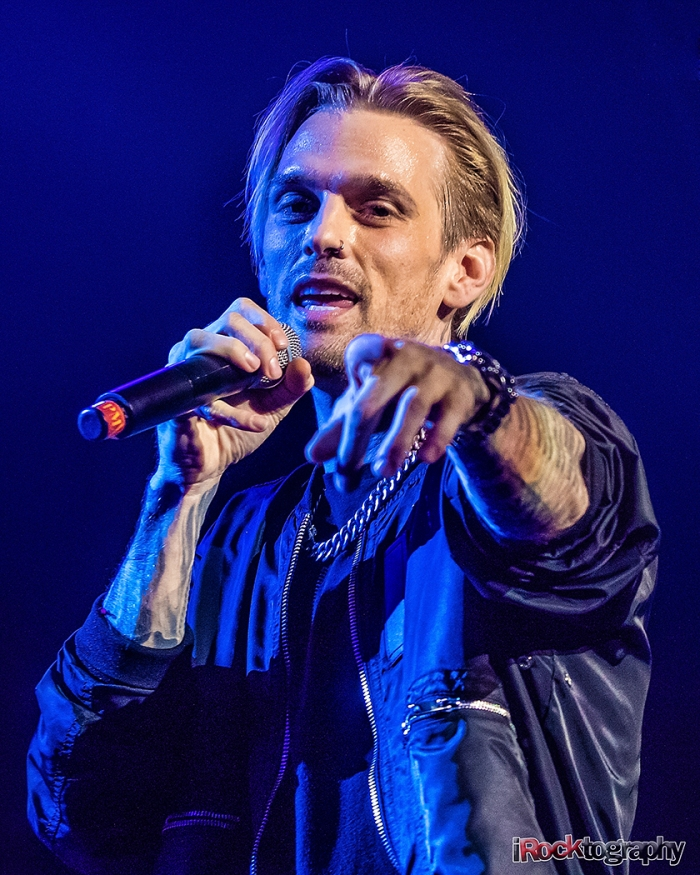 Aaron Carter live in Manila